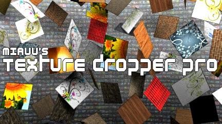 3dsMax script] miauu's Texture Dropper Pro : 3ds Max