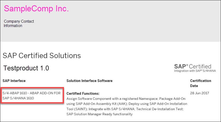 Sap Abap Central Sap Certification Recommendation For Partner