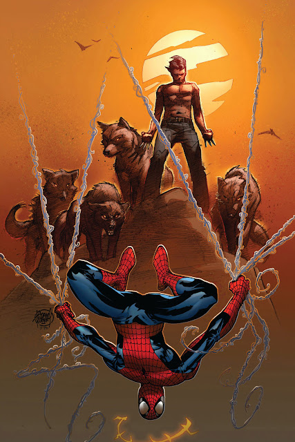 spidey and wolverine