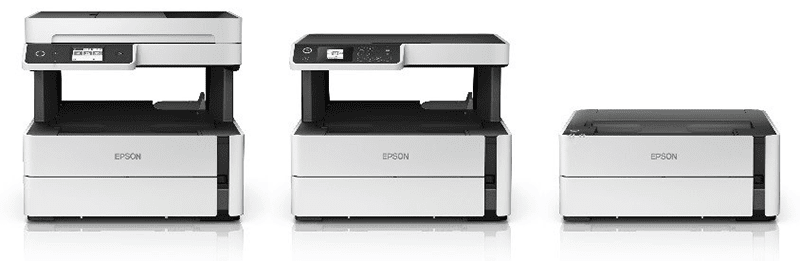 Epson's design is recognized through its printers, scanners and projectors