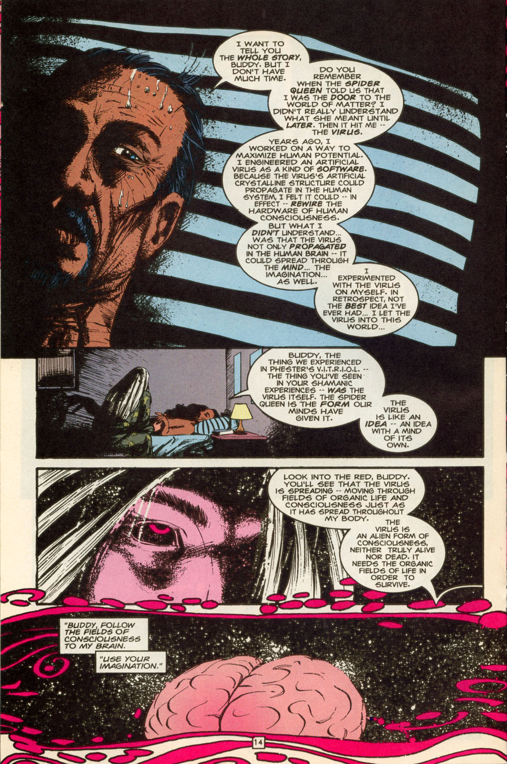 Read online Animal Man (1988) comic -  Issue #88 - 14