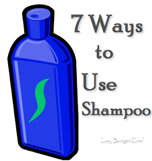 seven wasy to use shampoo