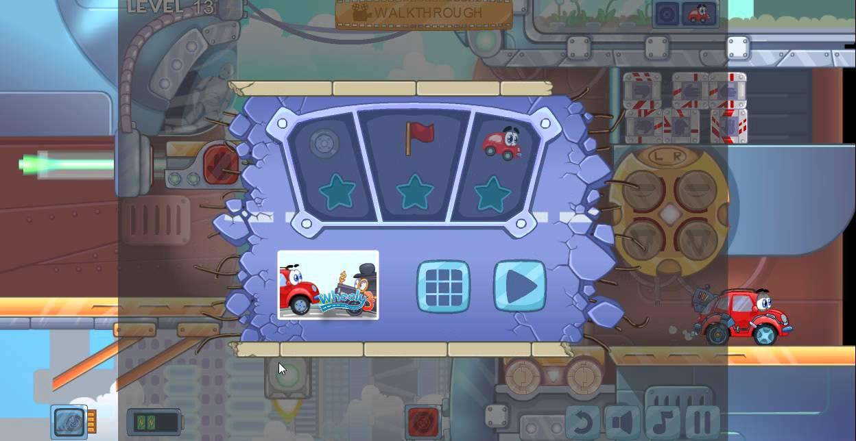 Wheely das rote Auto Spiel 1