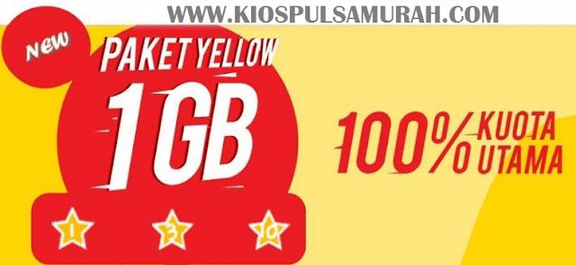 Cara Daftar Paket Yellow Indosat Hanya 2 Ribu Mendapatkan Kuota 2 GB