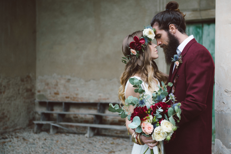 Matrimonio Bohemien Uomo : Lovely wedding lo sposo hipster