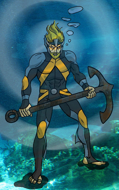 Toekneearrows Justice League Redesign Aquaman