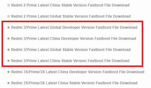 Cara Flash ROM Global Redmi 3 Dari ROM Distributor Kurang Dari 5 Menit