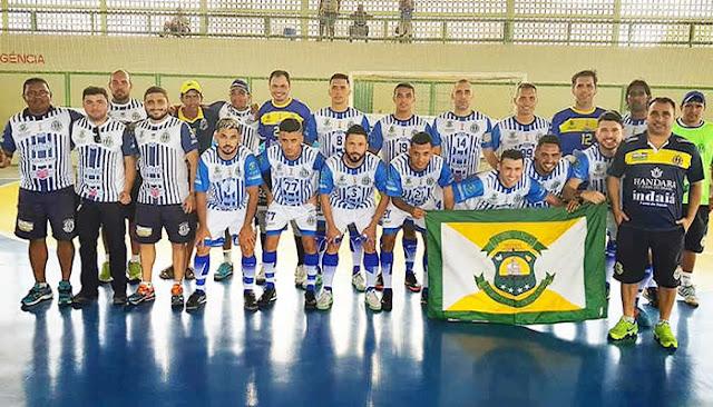 Horizonte goleia time piauiense e fica perto da final do 'Nordestão' de Futsal.