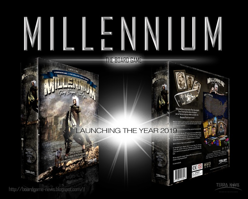 Millennium Board Game Launches in 2019!