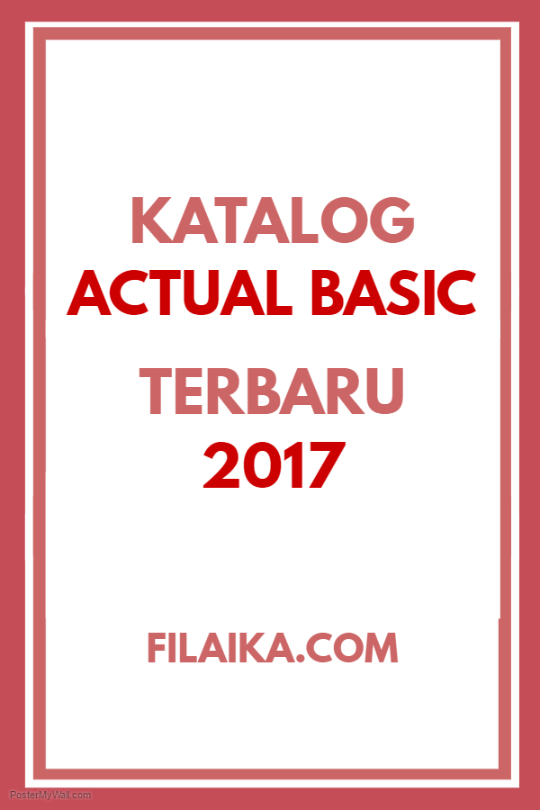 Katalog Actual Basic 2017