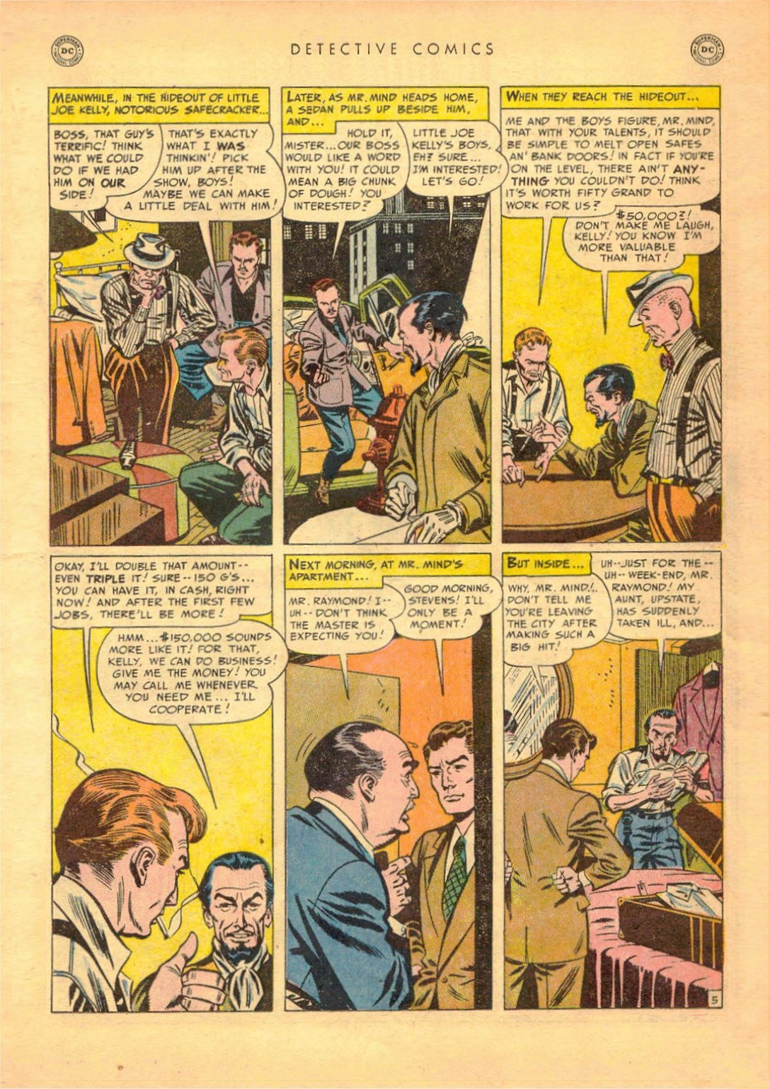 Read online Detective Comics (1937) comic -  Issue #161 - 21