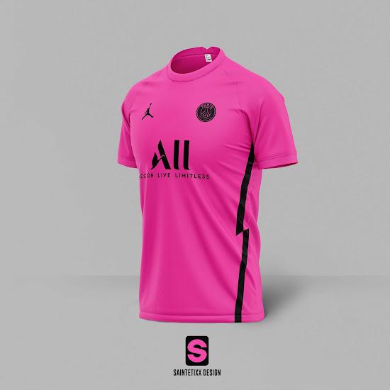 4 Jordan Paris Saint Germain 20 21 Fourth Kit Concepts Revealed Footy Headlines