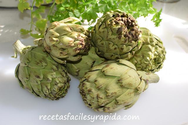 alcachofas, recetas