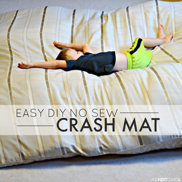 How to make a crash mat for kids