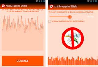 Aplikasi Anti mosquito shilld