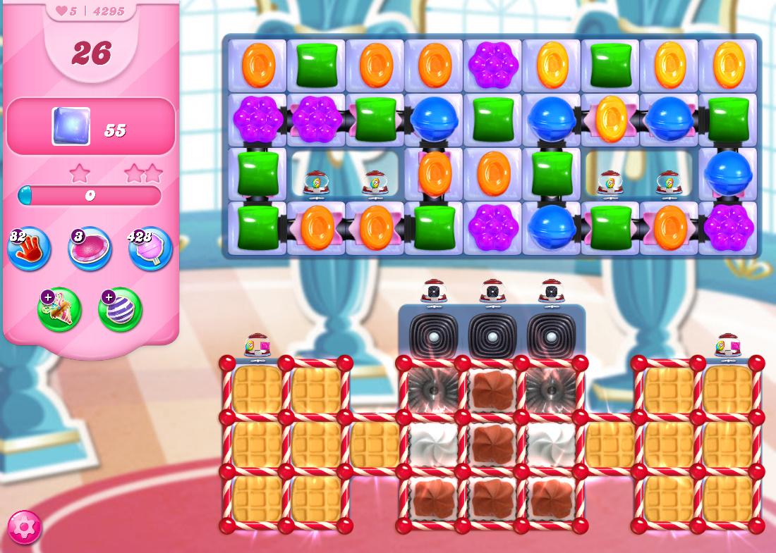 Candy Crush Saga level 4295