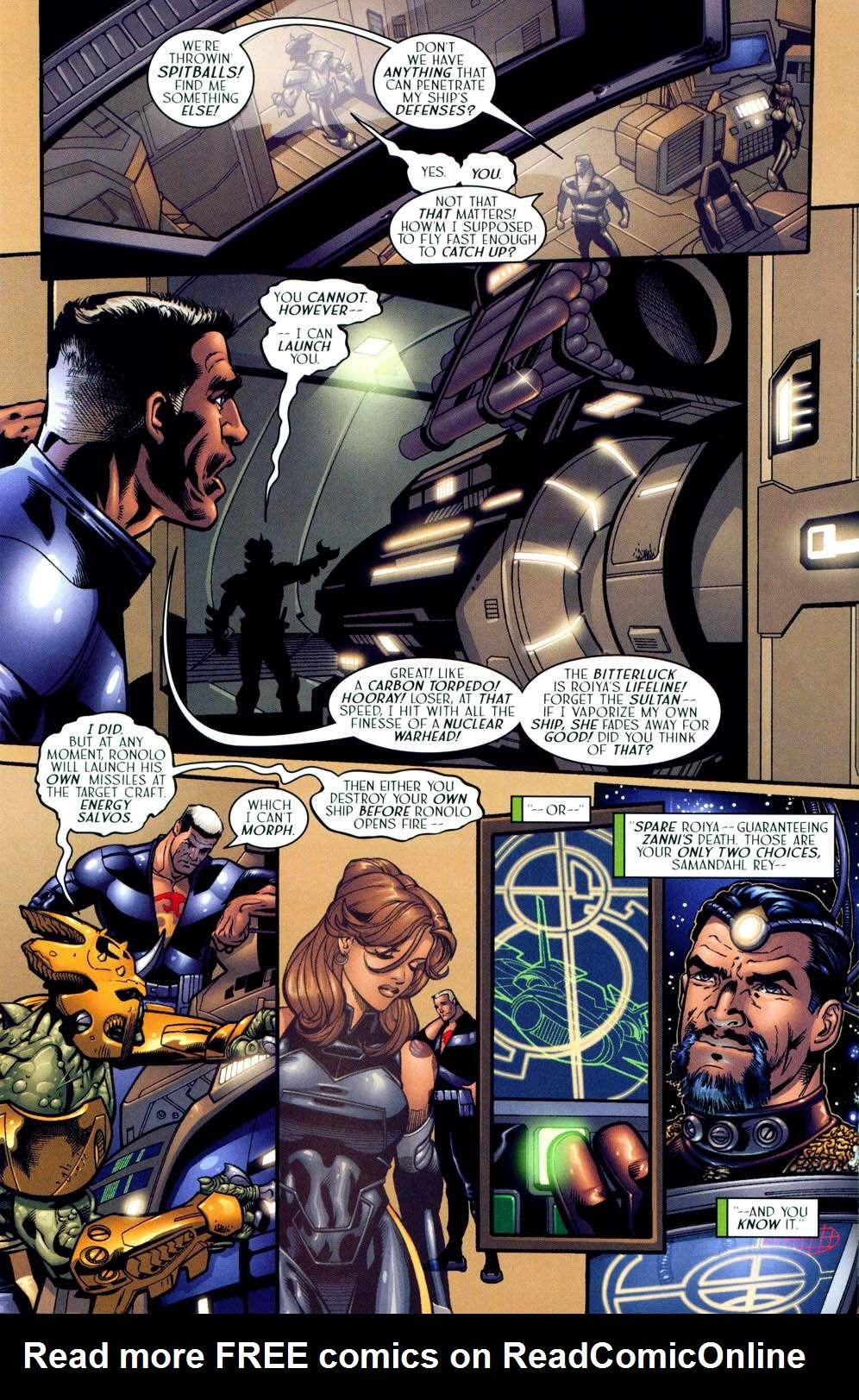 Read online Sigil (2000) comic -  Issue #13 - 18