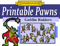 http://fantanomiconpress.blogspot.com/2013/12/printable-pawns-goblin-raiders.html