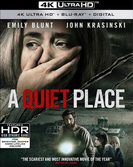A Quiet Place 4K (Un lugar en silencio 4K) (2018) 2160p 4K UltraHD HDR BluRay REMUX 47GB mkv Dual Audio Dolby TrueHD ATMOS 7.1 ch