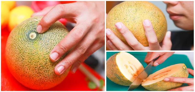 Tips Sederhana Memilih Melon dengan Tingkat Kematangan Sempurna yang Manis dan Segar !!