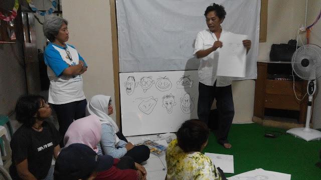 Ngabuburi sambil ngartun bareng Sahabat Difabel Semarang