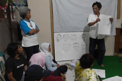 Ngabuburit sambil ngartun bareng Sahabat Difabel Semarang