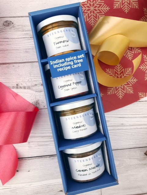 Gift boxed spices