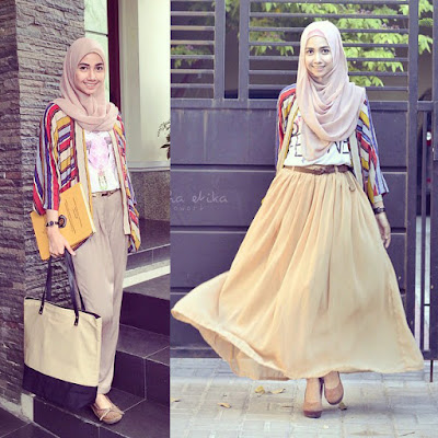 Style Anak Kuliah Wanita Terbaru Kekinian