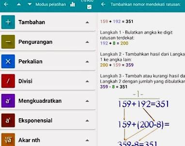 Aplikasi Matematika Android