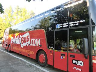 Autobus PolskiBus, Polonia