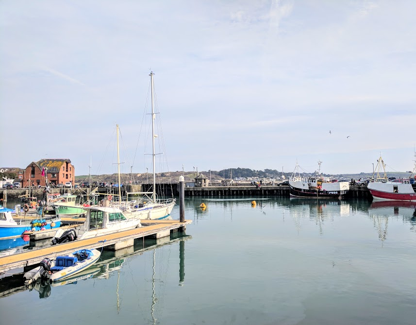 A Morning in Padstow : What to do with Kids  - calm Padstow harbour