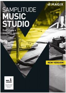 MAGIX SAMPLITUDE MUSIC STUDIO 2017 + ATIVADOR