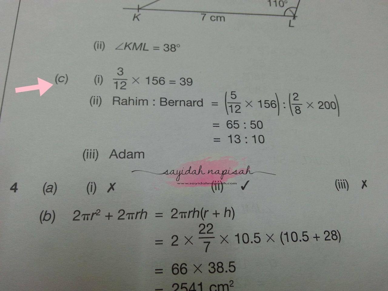 Topik Wajib Ada Dalam Exam PT3 + Contoh Soalan (PART 2)