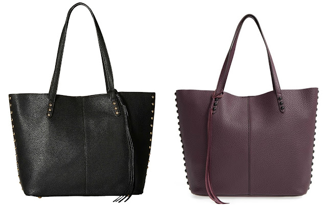 One of these bags is from Rebecca Minkoff on sale for $177 (reg $295) and the other is from Gabriella Rocha on sale for $23 (reg $78). Can you guess which one is the more expensive bag?
