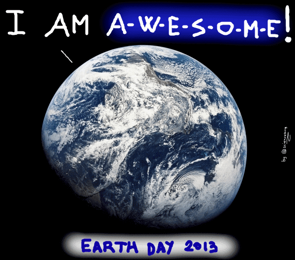 Earth day 2013 (by sciencemug)