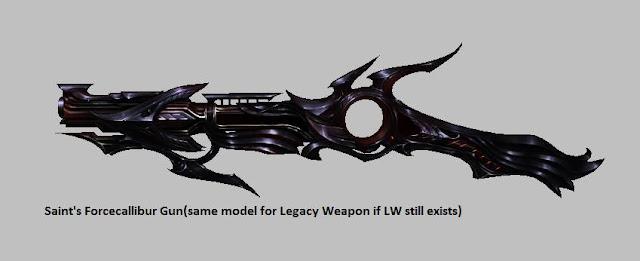 Saint's Forcecalibur Gun | Weapon Skin [Force Gunner]