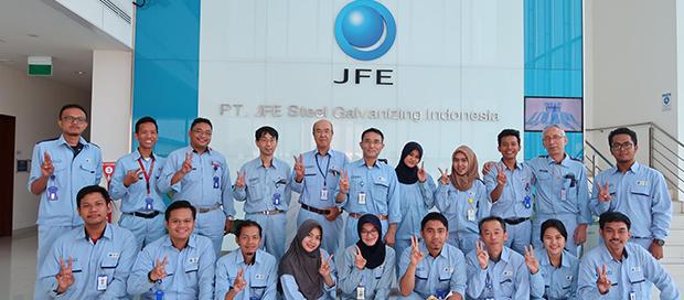 Lowongan Kerja PT. JFE Steel Galvanizing, Jobs: Manufacturing Technology Staff.