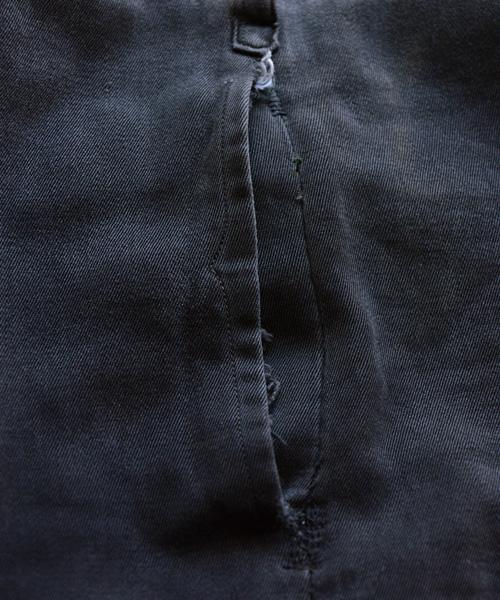 ワークパンツ ジャパンヴィンテージ 30年代 黒 タック Wフェイス FUNS Japanese Vintage 30s Black Work Pants
