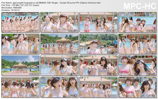 Download PV/MV NMB48 12th Single - Durian Shonen  (Dance version)