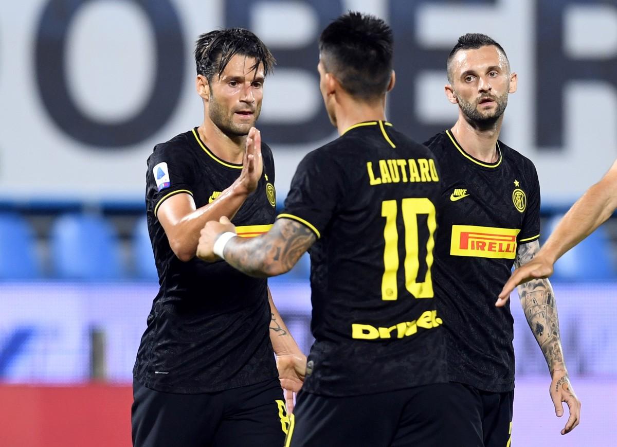 Inter goleó a SPAL y se colocó en el segundo lugar de la Serie A italiana