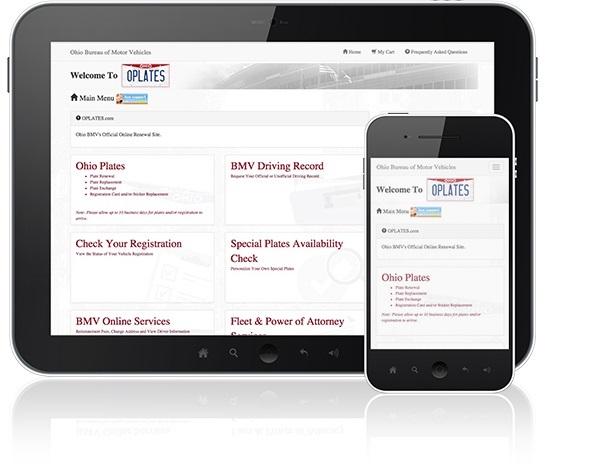 OPLATES: Ohio BMV - License Plates Bureau