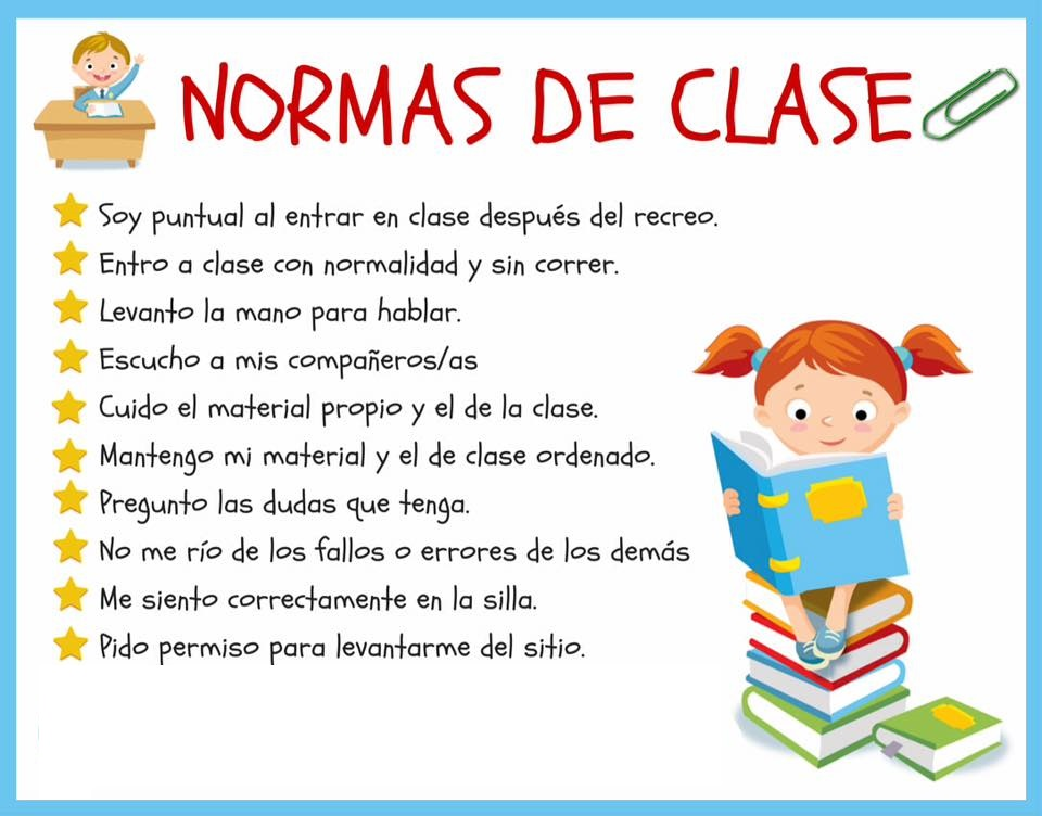 Mi sal n 23 importante for 5 reglas del salon de clases