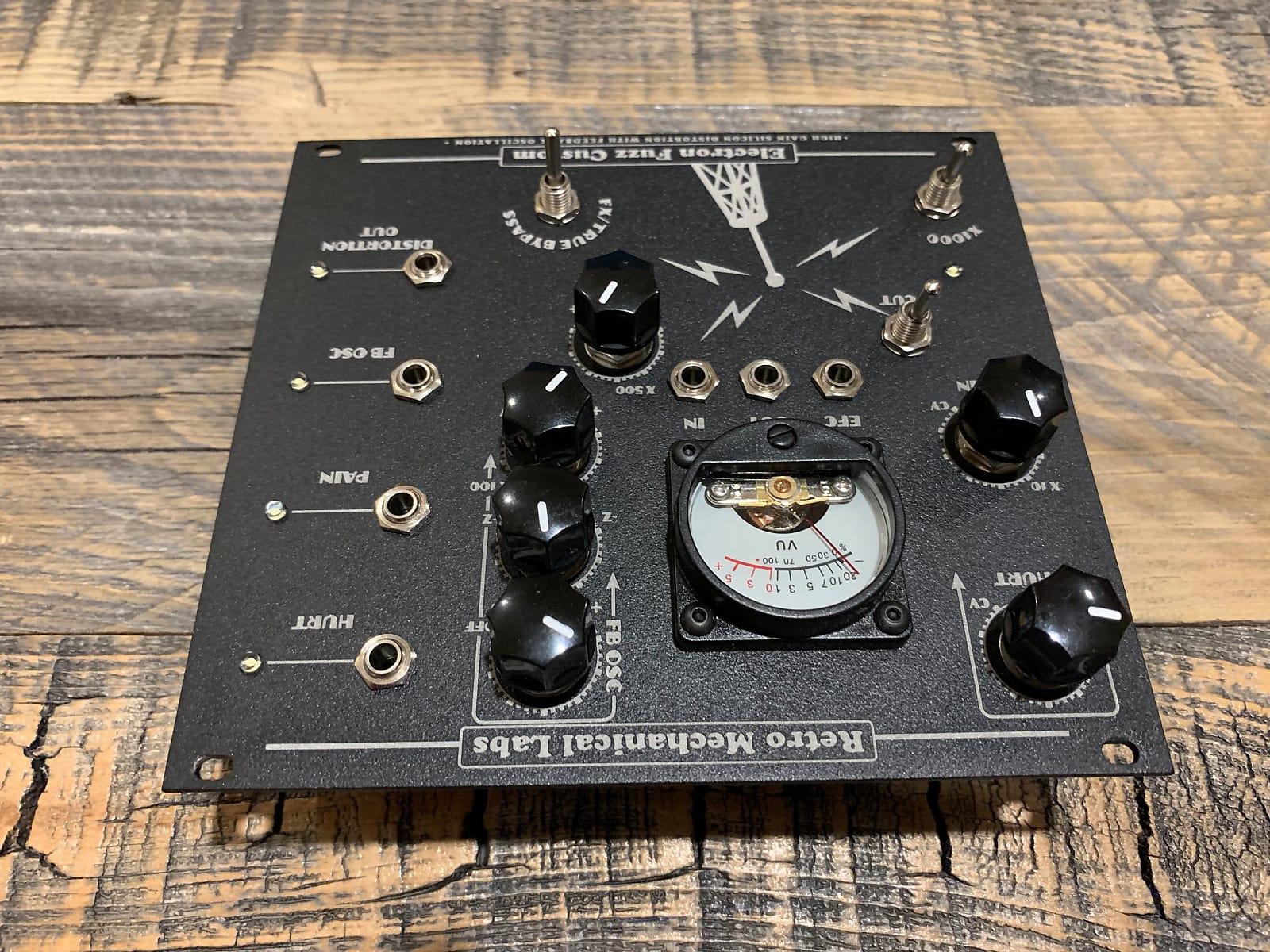 matrixsynth  retro mechanical labs electron fuzz custom cv