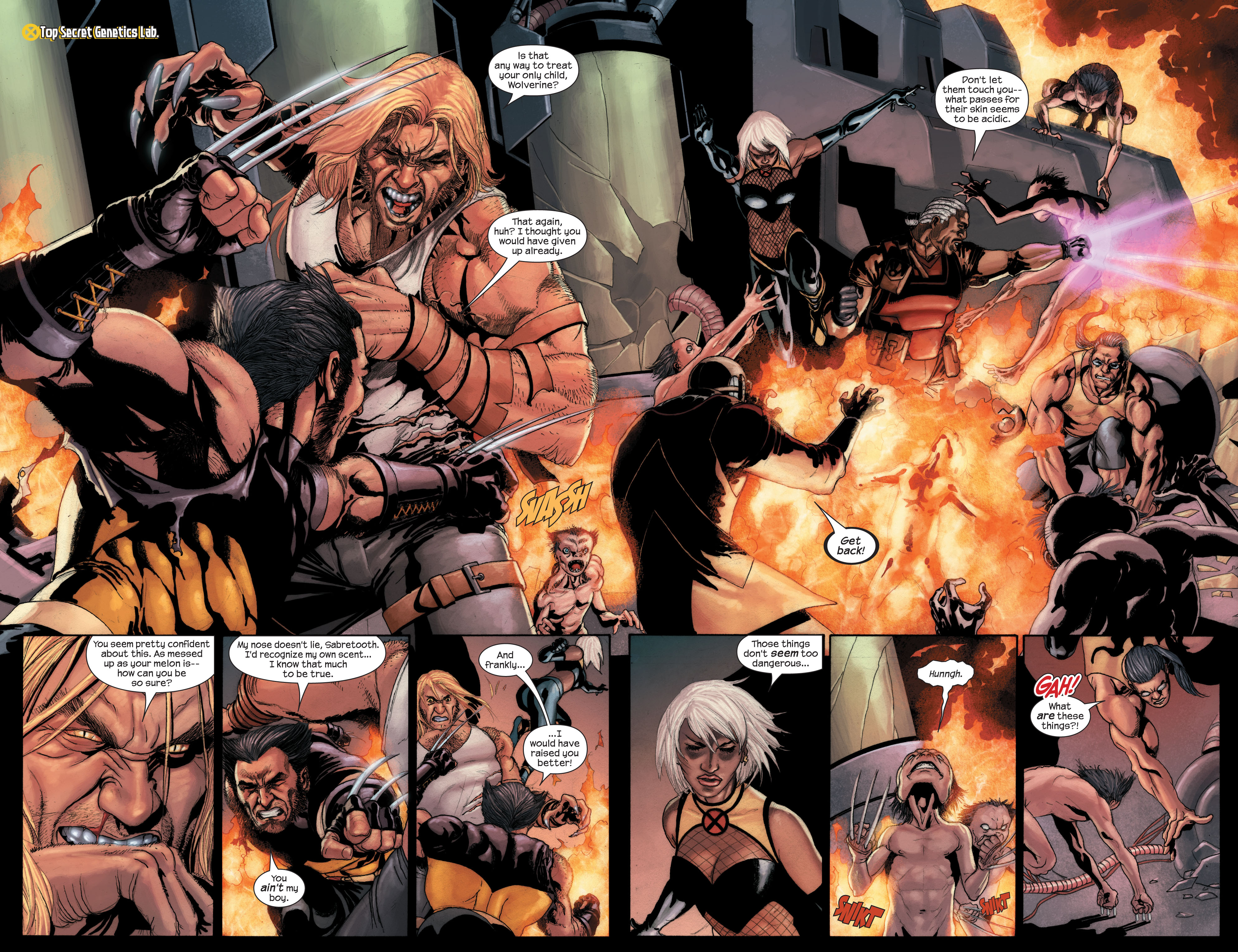Read online Ultimate X-Men comic -  Issue #89 - 3