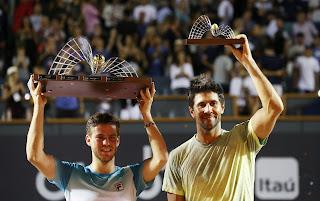 Schwartzman beats Verdasco to win Rio Open