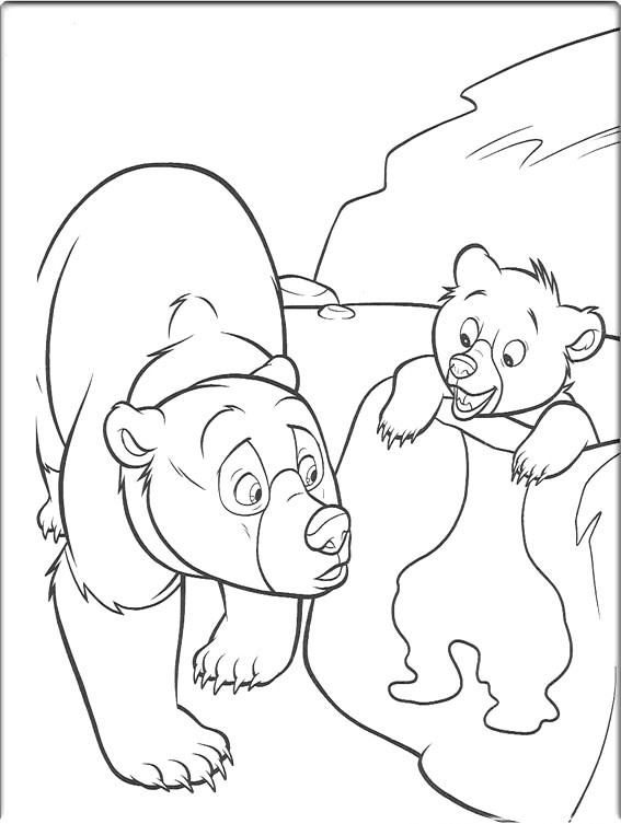 Coloring Pages Online: Brother Bear Coloring Pages
