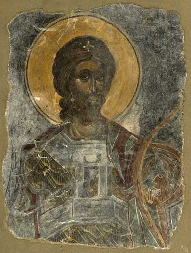 16th century post-Byzantine wall paintings reunited