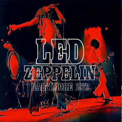 The Evil Monkey S Records Led Zeppelin Baltimore 1972