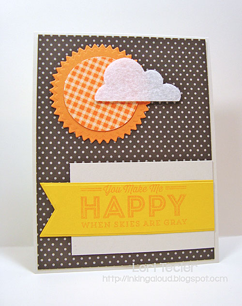 You Make Me Happy card-designed by Lori Tecler/Inking Aloud-stamps from My Favorite Things
