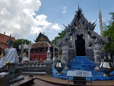 Templo de Plata de Chiang Mai, en el top 7 de Tailandia